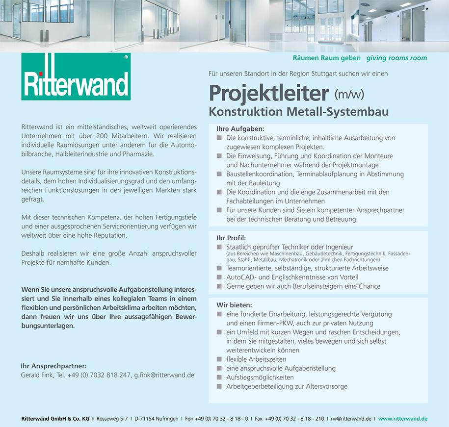 MITARBEITER/IN Entwicklung & Sonderprojekte (m/w)